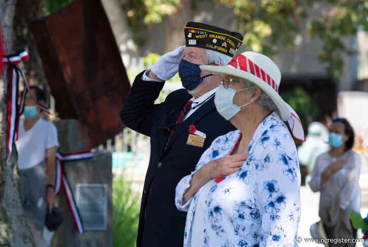 Fountain Valley presents small, socially distanced Memorial Day event for a virtual audience
