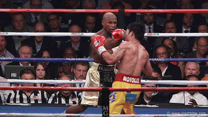 Floyd Mayweather Makes Surprise Prediction For Manny Pacquiao - SPORTbible