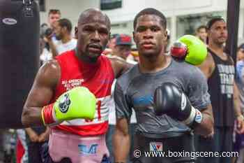 Devin Haney Discusses Training With Floyd Mayweather - BoxingScene.com