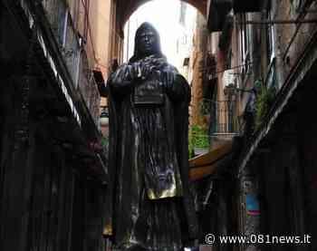 Nola: il Giordano Bruno del maestro Santaniello esposto al Doma di Napoli | - Nello