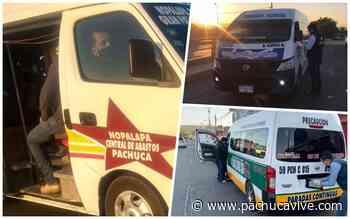 #Sancionados 🚐 Unidades de transporte público llevan sobrecupo en Pachuca y MR - Pachuca VIVE