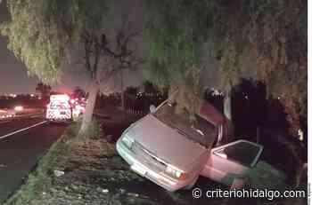 Deja choque 2 lesionados en la México-Pachuca - Criterio Hidalgo