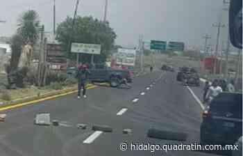 Detienen a 24 personas tras destrozar patrulla en Pachuca; entre ellos supuesto líder autodefensa - Quadratín Michoacán