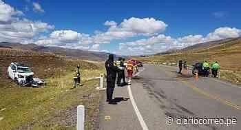 Huancavelica: Empresario fallece tras brutal choque - Diario Correo