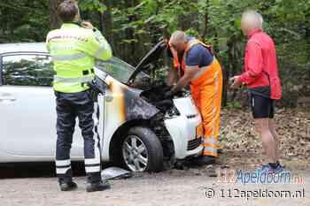 Autobrand in Epe mogelijk aangestoken - 112 Apeldoorn