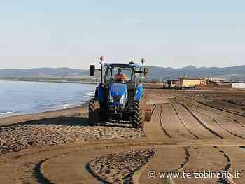Pulizia la spiaggia di Cerveteri: Caerite in azione a Campo di mare - TerzoBinario.it