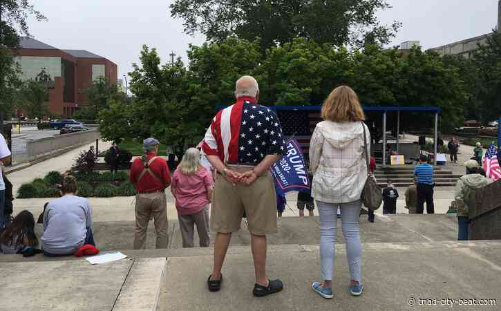 Hypocrisy and rebellion on display at Memorial Day Reopen NC rally in Greensboro