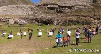 Huancavelica: Con protesta exigen agua para prevenir el coronavirus - Diario Correo