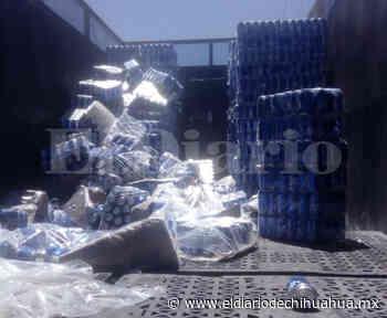 Decomisan en Delicias camión con más de 300 charolas de cerveza - El Diario de Chihuahua
