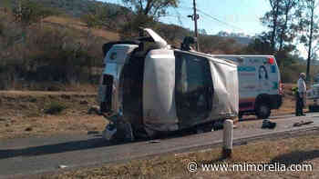 Accidente en la Morelia-Mil Cumbres deja una mujer lesionada - MiMorelia.com