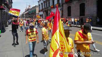 VIDEO: Aficionados del Morelia se manifestaron en las calles pese a cuarentena - Diario Deportivo Récord