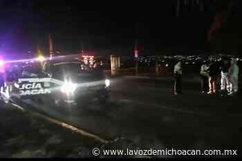Ciclista fallece en Morelia al ser embestido por una unidad de Policía Michoacán - La Voz de Michoacán