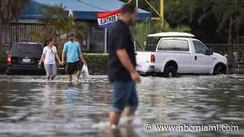 Flash Flood, Severe T-Storm Warnings in Miami-Dade, Broward