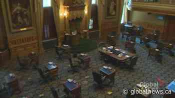 N.B. legislature to return with new cautious seating arrangement