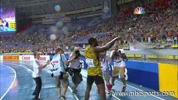 Usain Bolt wins 100m at 2013 worlds as lightning strikes - OlympicTalk