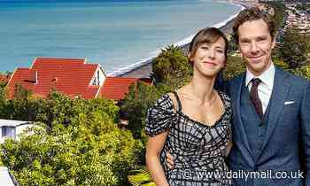 Benedict Cumberbatch is isolating with his family at a luxury £1,700-a-night New Zealand lodge - Daily Mail