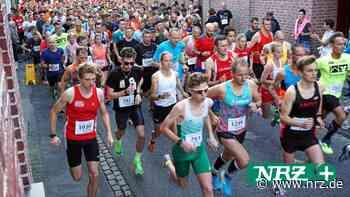 Der Internationale Enni-Citylauf in Xanten ist auch abgesagt - NRZ