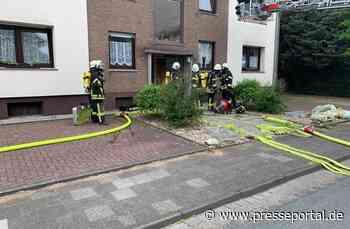FW Xanten: Müllbrände und Zimmerbrand in Xanten und Marienbaum - Presseportal.de