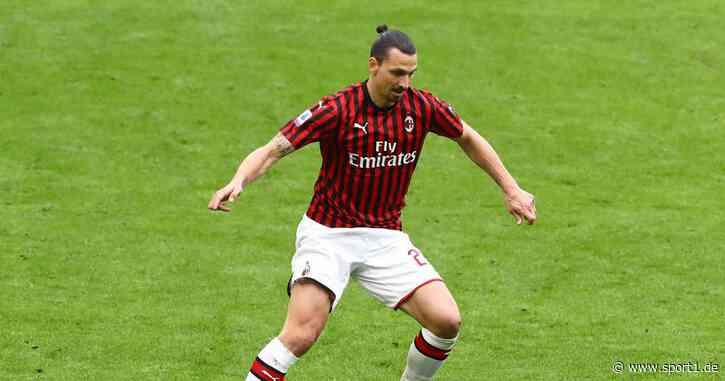 Zlatan Ibrahimovic verletzt sich im Training des AC Mailand - Achillessehnenriss? - SPORT1