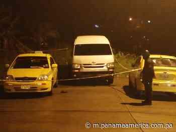 Acaban con la vida de joven taxista en Cativá - Panamá América