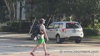 Man Walks From West Palm Beach to Tallahassee to Raise Awareness About Unemployment Issues