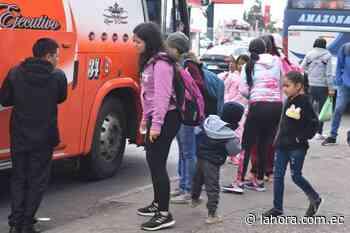 Robos dentro de los buses que van al Puyo y Baños - La Hora - La Hora (Ecuador)