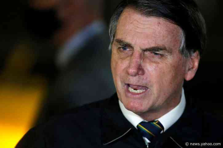 Brazil's Bolsonaro says he expects top court to end probe into his conduct over police