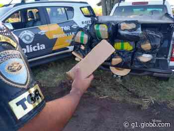 Polícia apreende tabletes de maconha em rodovia de Santa Cruz do Rio Pardo - G1