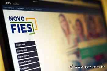 MEC suspende pagamento de parcelas do Fies - GAZ - Notícias de Santa Cruz do Sul e Região - GAZ