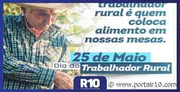 Prefeito de Santa Cruz dos Milagres homenageia trabalhadores rurais - Portal R10
