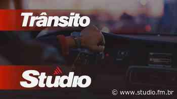 Acidente de trânsito é registrado no Bairro Santa Cruz em Nova Prata - Rádio Studio 87.7 FM