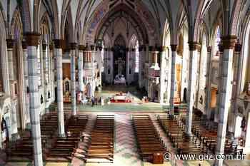 Missas na Catedral serão retomadas nesta segunda - GAZ - Notícias de Santa Cruz do Sul e Região - GAZ