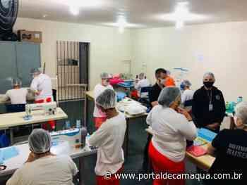 Apenadas de Lajeado e Santa Cruz do Sul compartilham conhecimento na produção de máscaras - Portal de Camaquã