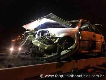 Em Forquilhinha, carro cai em vala no bairro Santa Cruz - Forquilhinha Notícias