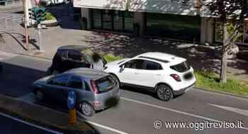 Vittorio Veneto, macchina contromano all'incrocio: schianto tra due auto. - Oggi Treviso