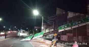 Cae señalamiento sobre motociclista y muere degollado - El Horizonte