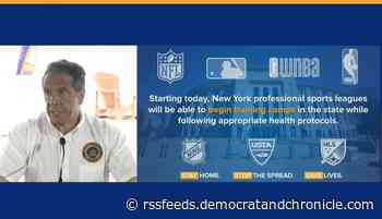 Play ball! New York sports teams get approval to start training camps