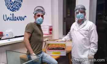 L'Associazione Passaparolaweb ha donato 1150 mascherine ai lavoratori Unilever di Caivano | - CasertaWeb