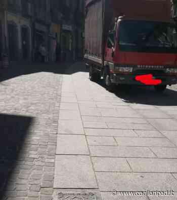 """Cagliari, sosta dei camion oltre orario nell'area pedonale. Benucci (Progressisti): """"Non c'è controllo"""" - Cagliaripad"""