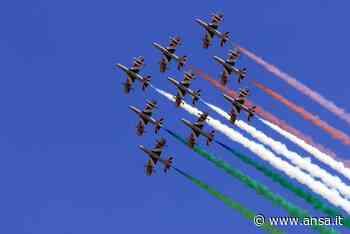 Tappa a Cagliari delle Frecce Tricolori per festa Repubblica - Sardegna - Agenzia ANSA