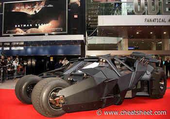 Jay Leno Got to Take the Actual 'Batmobile' for a Spin - Showbiz Cheat Sheet