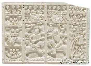 Museum Quality Replica - 14th Century French Artifact - Wall Decoration (Raisin)