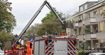 Walheim: Wohnung brennt aus, keine Verletzten - Aachener Zeitung
