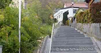 Oberkochen ist eine Stadt der Treppen - Schwäbische