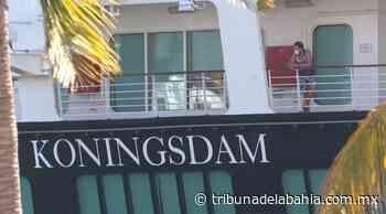 Desembarcarán 70 tripulantes del Koningsdam en Puerto Vallarta - Noticias en Puerto Vallarta - Tribuna de la Bahía