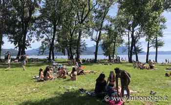 Dal Parco Giona a Luino e Germignaga, spiagge prese d'assalto - Luino Notizie