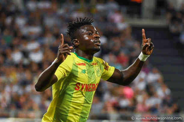 FC Nantes snaps up Moses Simon on 4-year contract