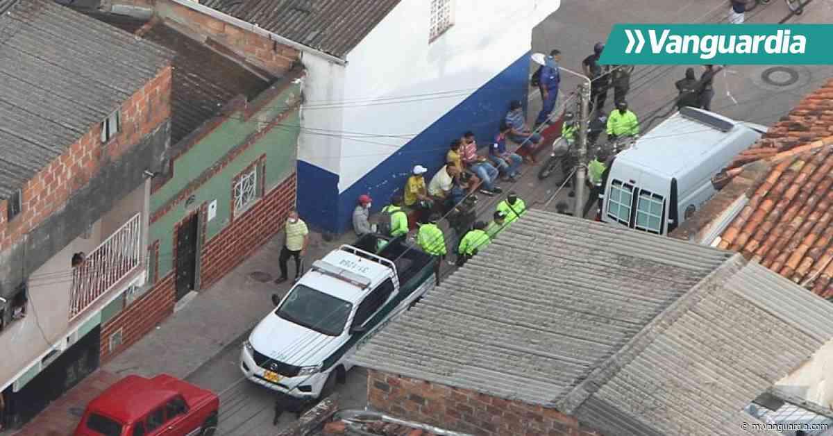 Policía adelanta gigantesco operativo contra el microtráfico en Piedecuesta - Vanguardia
