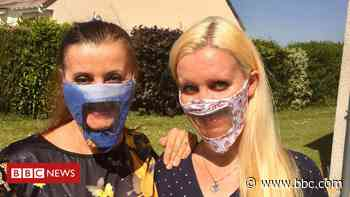 Call for clear face masks to be 'the norm' - BBC News