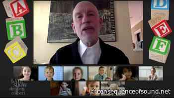 John Malkovich Gives Epic Preschool Graduation Speech: Watch - Consequence of Sound
